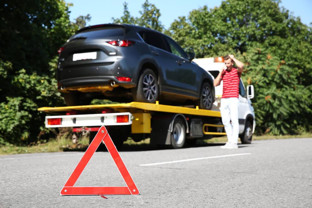 Šlepanje auta u Srbiji