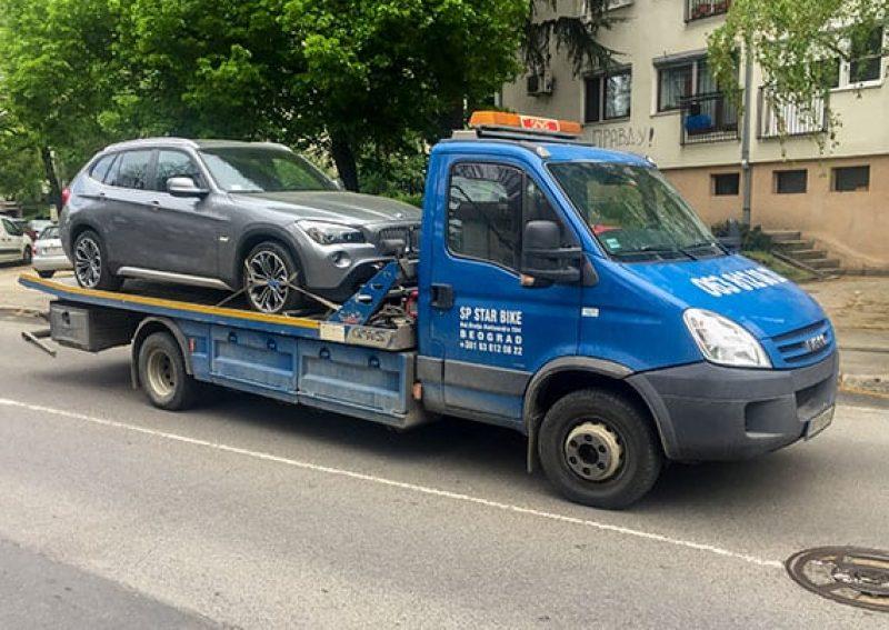 Šlep služba Beograd - slepanje vozila
